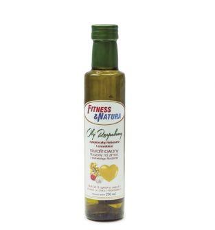 Olej rzepakowy z papryczką habanero i czosnkiem 250 ml