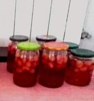 kompot z truskawek