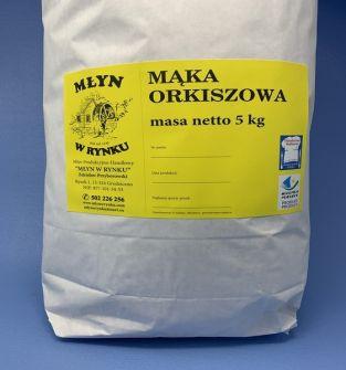 Mąka Orkiszowa Młyn w Rynku