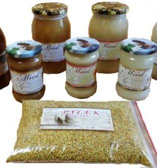 Czysty miód nektarowy akacjowy 1.25 kg