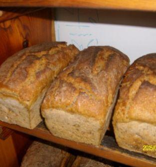 Chleb na zakwasie z gospodarstwa ekologicznego