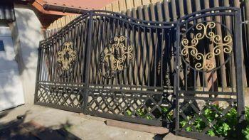 Brama wjazdowa, ogrodzenie