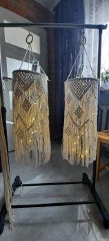 Lampion makrama- rękodzieło