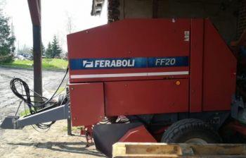 Prasa Feraboli FF20 2007 rok, owijanie sznurkiem