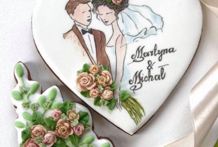 Pierniki ślubne